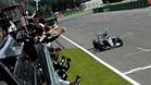 Rosberg recortó diez puntos a Hamilton