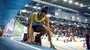 Salma Paralluelo debutó en los Campeonatos de Europa de Atletismo