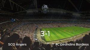 El SCO Angers logra la victoria frente al FC Girondins Bordeos (3-1)
