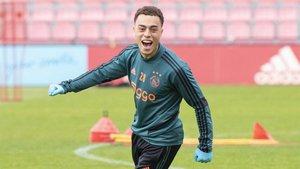 Sergiño Dest ya se ve muy cerca del FC Barcelona