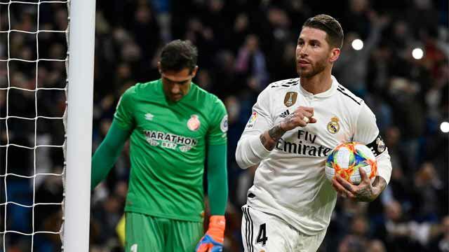 Sergio Ramos remontó con un penalti a lo Panenka