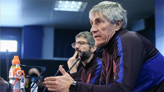 Setién, sobre el rol de Arturo Vidal: Priorizamos el orden