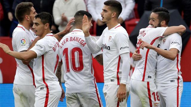 El Sevilla de Machín se impone al Girona