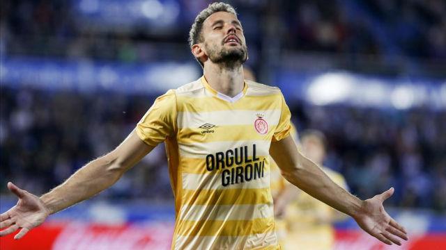Stuani: El derbi contra el Espanyol es un partido para disfrutar