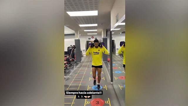 Suárez continúa su recuperación en buen camino