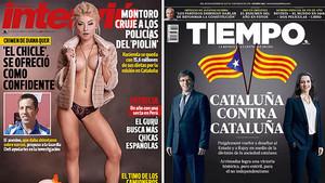 Ultimas portadas de Interviú y Tiempo
