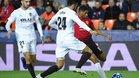 El Valencia ganó ante el Manchester United su último partido en casa