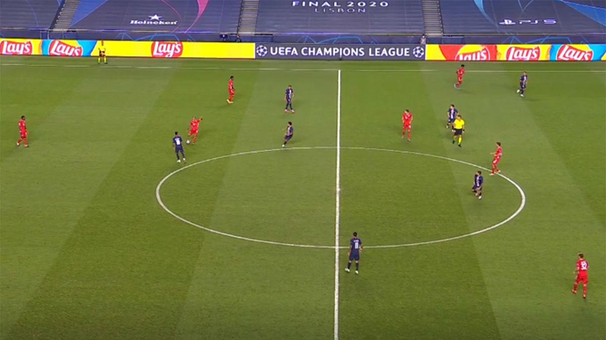 Visión de juego y precisión: el brillante pase de Thiago que desencadena el gol del Bayern