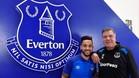 Walcott posa con su nuevo técnico