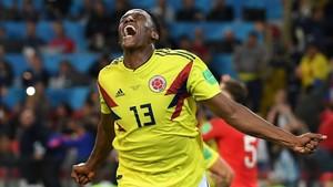 Yerry Mina ha marcado tres goles muy importantes en el Mundial