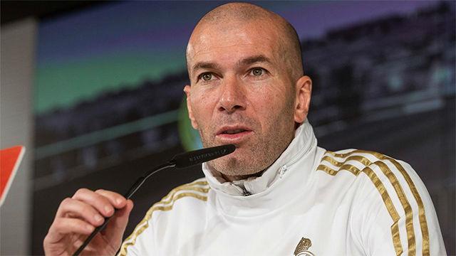 Zidane: No contemplo que Bale se marche ahora