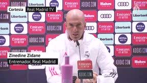 Zidane: Somos los que somos, este es el grupo
