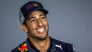 Daniel Ricciardo, durante una rueda de prensa