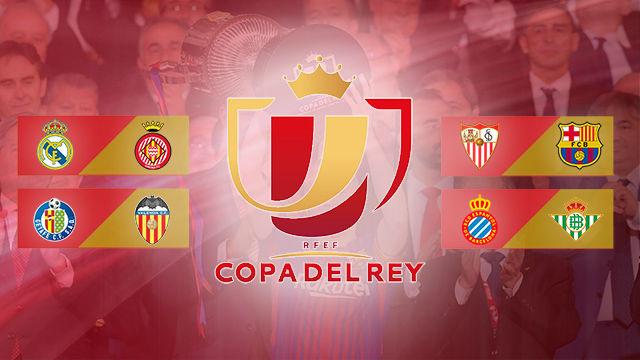 Sorteo 1/4 final Copa del Rey 2018 - 2019