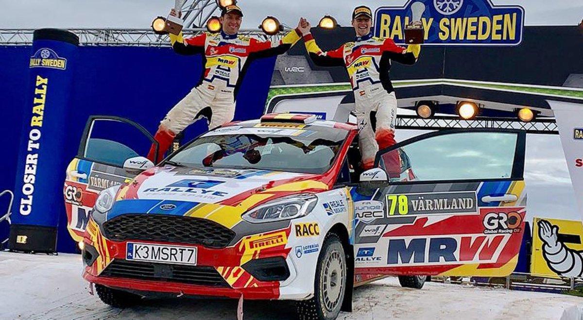 Jan Solans debuta con un podio en el Mundial júnior de rallies 4f452e6821504