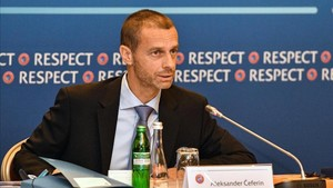 Aleksander Ceferin habló ante los medios