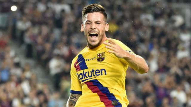 La alineación del FC Barcelona ante el Getafe