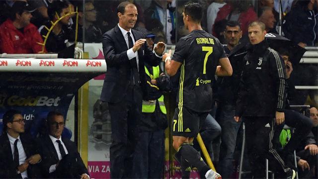 Allegri vuelve a reiterar que Cristiano es el mejor jugador del mundo