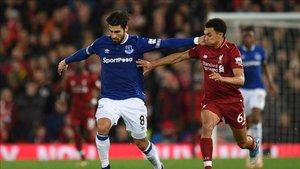 André Gomes ha reencontrado en el Everton su mejor juego
