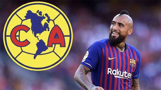 Arturo Vidal se deja querer por el Club América