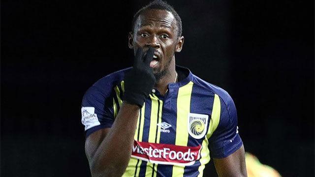 Así de surrealista fue el debut de Usain Bolt en el fútbol profesional