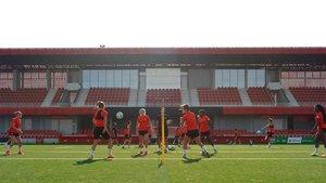 El Atlético prepara la Champions League
