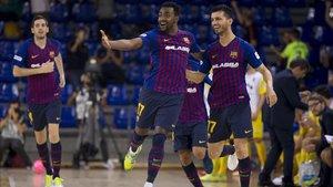 El Barça impuso su pegada en la Capital del Santo Reino
