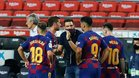 El Barcelona ha sumado 6 de 12 puntos posibles en sus últimos enfrentamientos