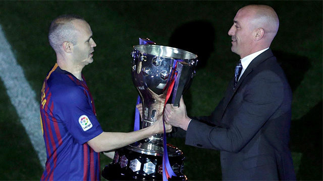 El FC Barcelona ya tiene la Copa de LA LIGA