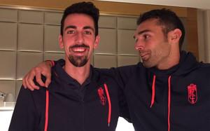 Barral bromeó en compañía de Cuenca