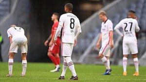El Bayern le ganó por 5-0 al Eintracht de Frankfurt