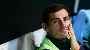 Casillas quiere jugar en Italia