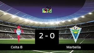 Celta B 2 - 0 Marbella: Celta B gana 2-0 al Marbella en la ida de ...