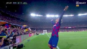 Confetti para celebrar el gol