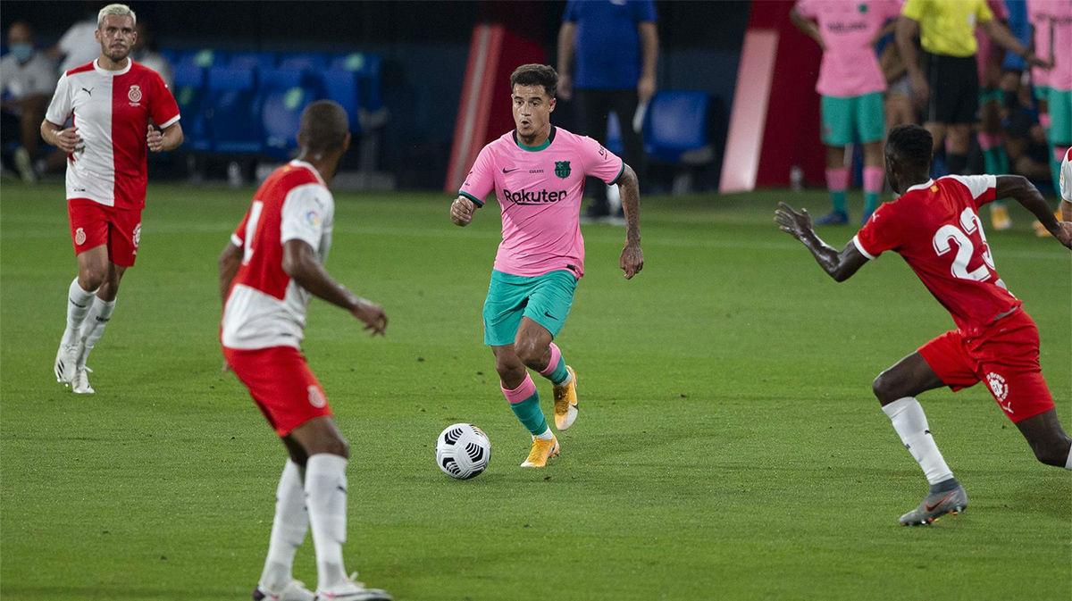 Coutinho marcó y finalizó con éxito una acción ofensiva espectacular del Barça