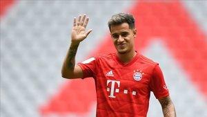 Coutinho salió cedido al Bayern de Múnich con opción de compra
