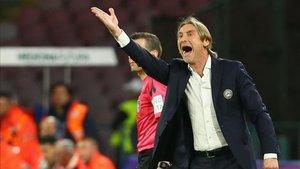 Davide Nicola contra el Nápoles