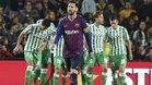 El doblete de Leo Messi no fue esa tarde suficiente ante un descarado Betis