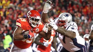 Se enfrentaron en temporada regular con victoria para los Patriots 43-40