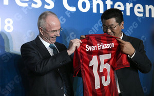 Eriksson ha sido despedido seis meses después de fichar