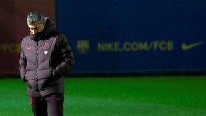 Ernesto Valverde ya no es entrenador del Barça