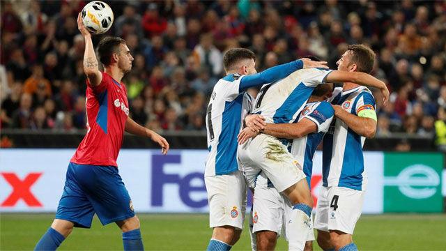 El Espanyol se llevó los tres puntos de Moscú