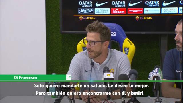 Di Francesco sobre Alisson: Quiero encontrarme con él y ganarle