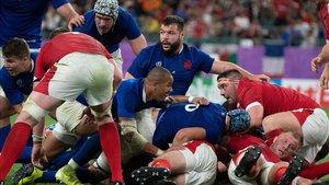 Gales y Francia ofrecieron uno de los duelos más intensos del Mundial