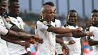 Ghana sufrió, pero venció a Congo