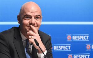 Gianni Infantino ganó en la primera votación