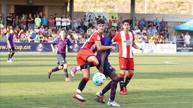 El Girona sorprende al Barça en el estreno del torneo The CUP