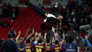 Guardiola, pieza clave del Barça de 2009 y 2011