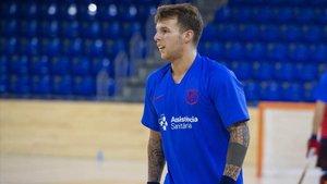 Hélder Nunes jugará este viernes su primer partido como azulgrana