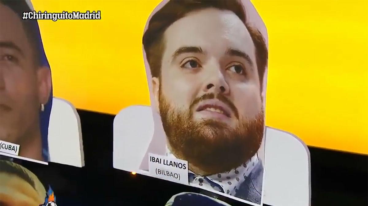 Ibai trolea al Chiringuito: Se cuela entre su público como un fan de México
